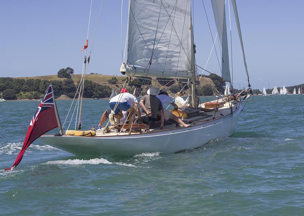 Iorangi, A-class keel yacht