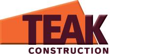 Teak Construction Construction logo