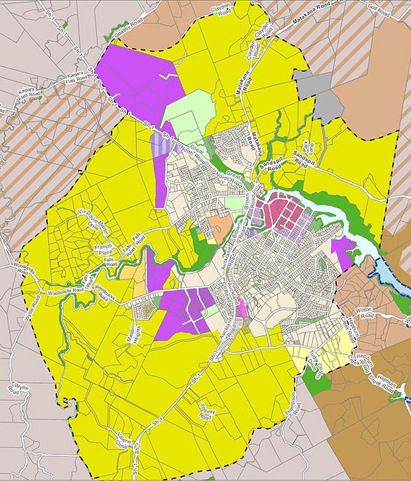 Warkworth zoned future urban