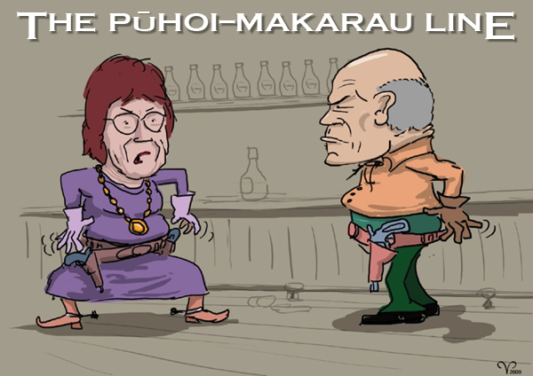 Puhoi-Makarau Line cartoon