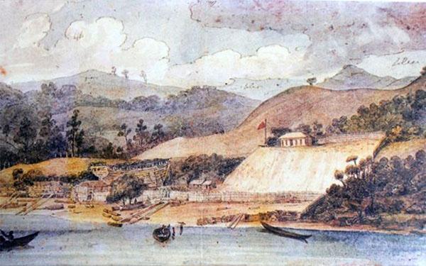 Hōreke Shipyard, Augustus Earle