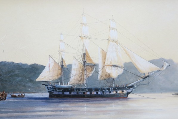 Paul Deacon, HMSS Buffalo