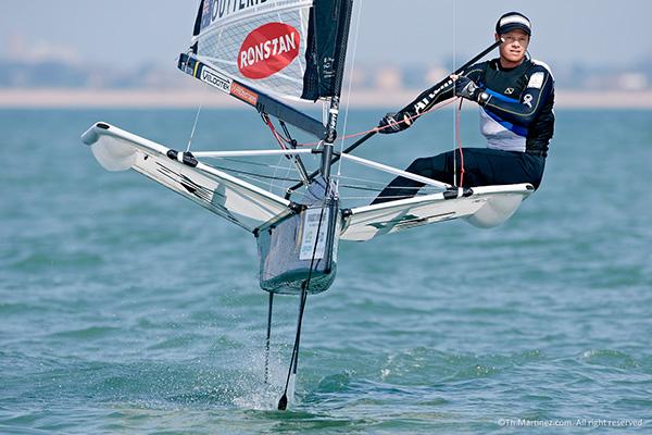 Nathan Outteridge winning 2014 world championship