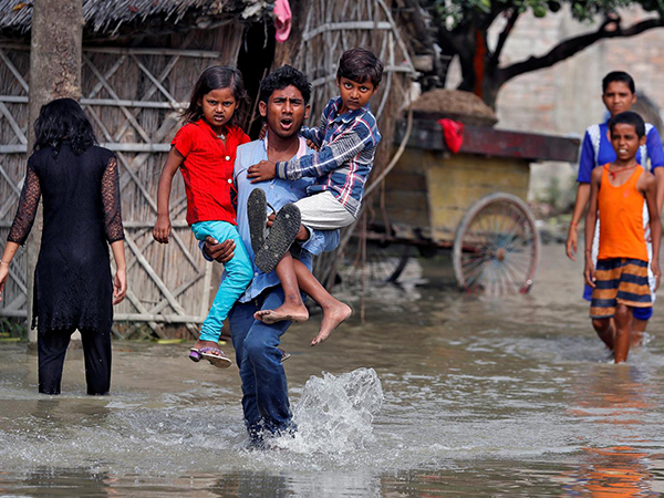 Bihar flooding, 201708