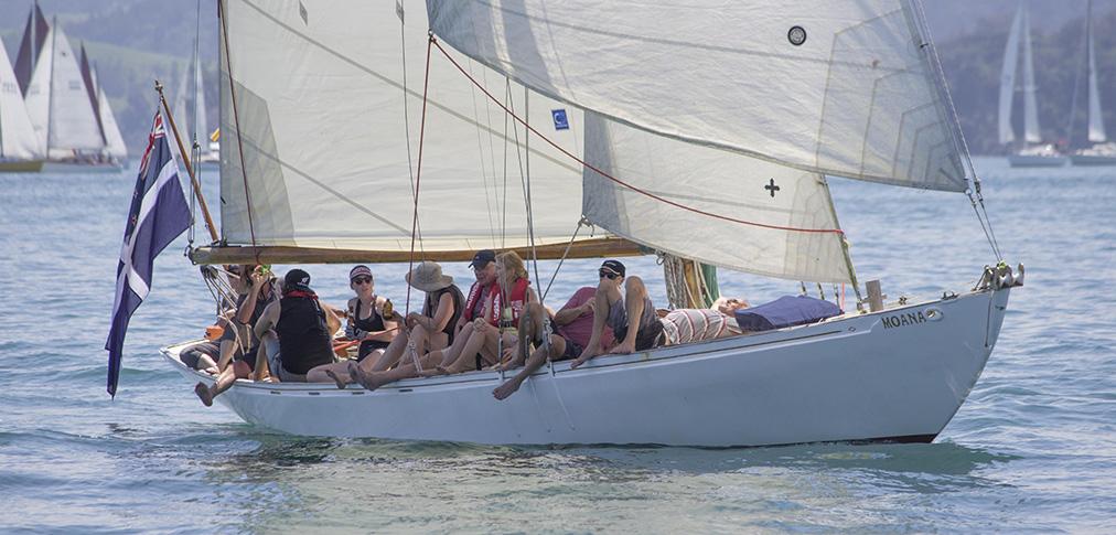 Moana, A-class keel yacht