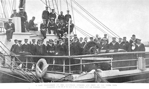 Terra Nova crew