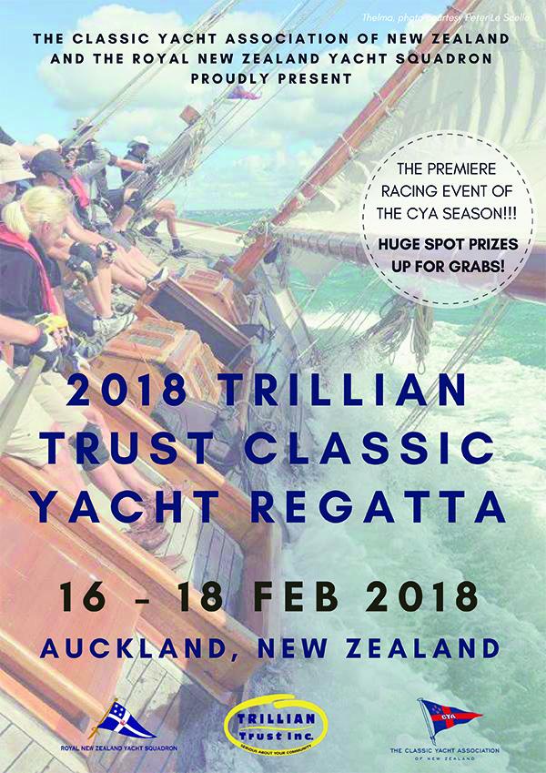 Trillian Trust Classic Yacht Regatta flier
