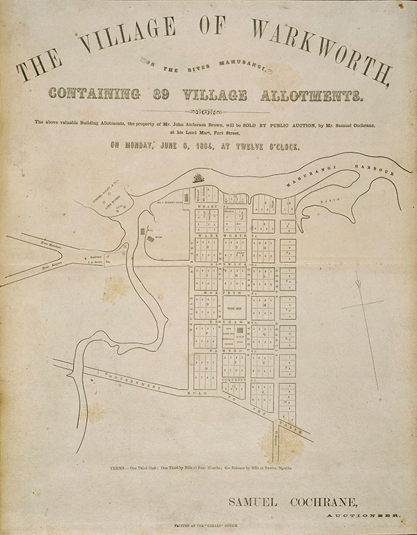 Village of Warkworth plan