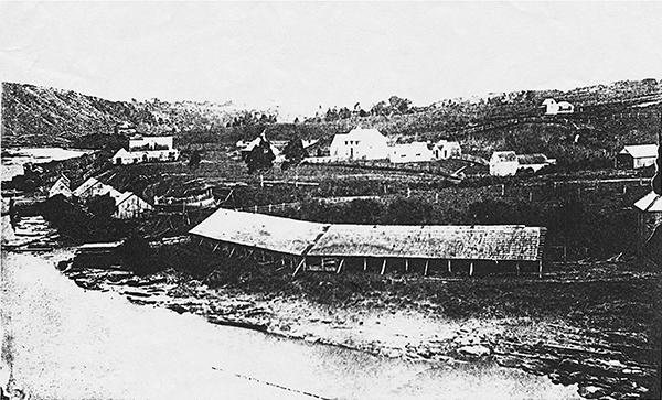 Warkworth, pre-1880s