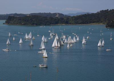 Fleet off Lagoon