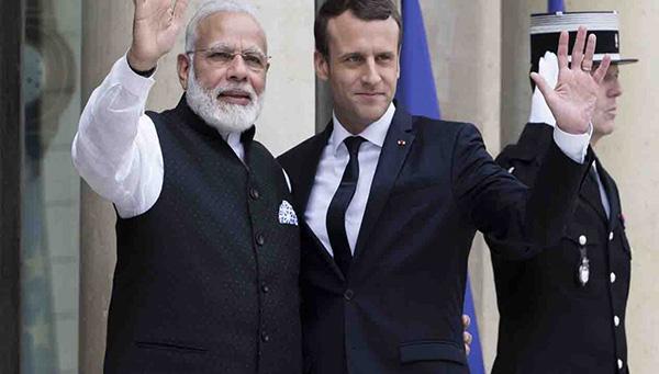Macron and Modi celebrate Jaitapur
