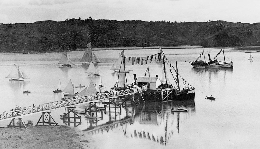Mahurangi Regatta 1901