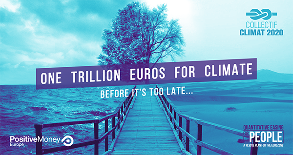 One Trillion Euros for Climate poster