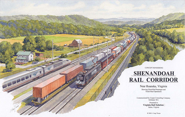 Shenandoah rail-with-trail rendering