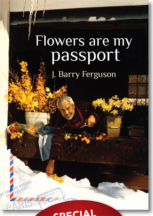 Flowers Are My Passport signing