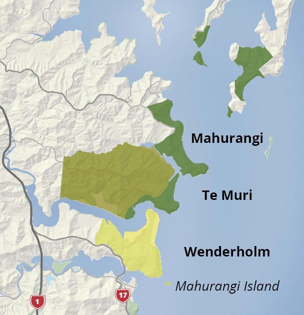 Mahurangi Regional Parks