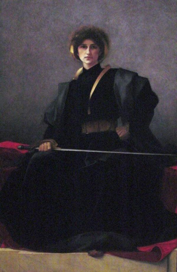 Alfred-Pierre Joseph Agache's L'Épée – The Sword