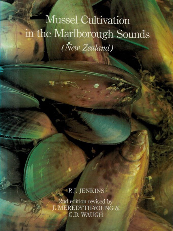 Cover image, Mussel Farming in the Marlborough Sounds