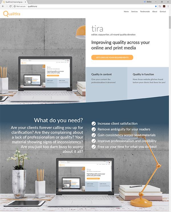 Qualitira website