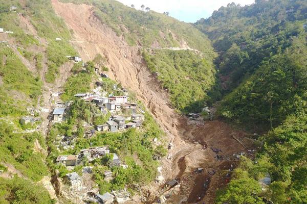 Ucab mine post Typhoon Mangkhut