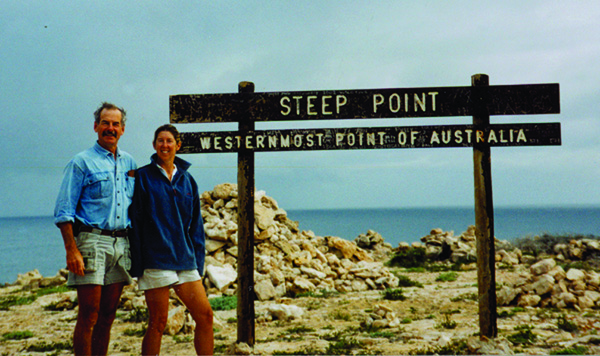 Mike and Norma Neil, Steep Point, Western Australia