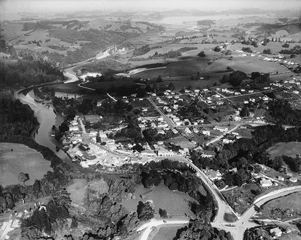 Warkworth 1955, aerial