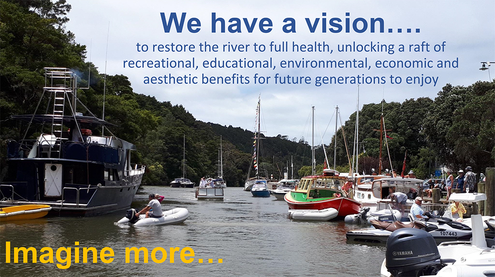 From Mahurangi River Restoration Talk poster