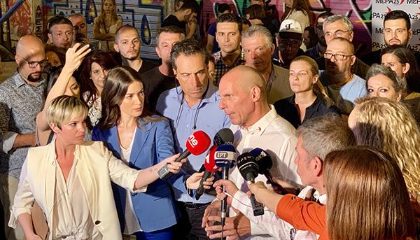 Yanis Varoufakis re-elected