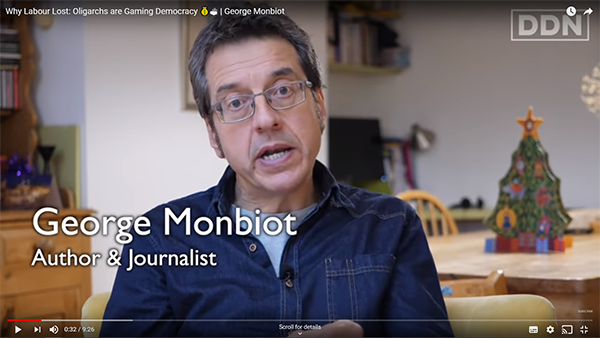 George Monbiot, 22 December 2019