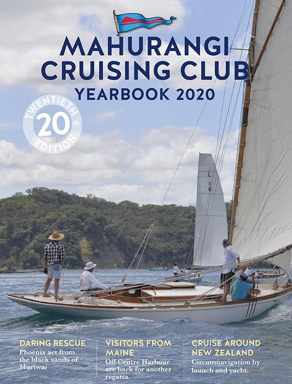 Mahurangi Cruising Club 2020 yearbook cover