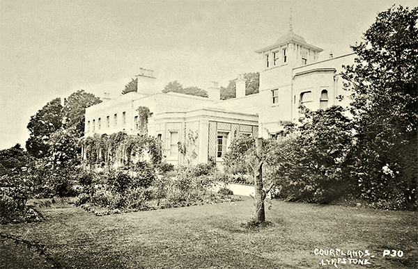 Lympstone Manor, previously known as Courtlands