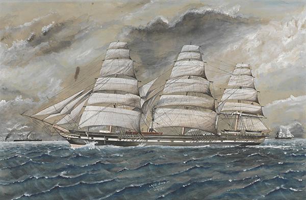 Lady Jocelyn, watercolour by W Gippoer