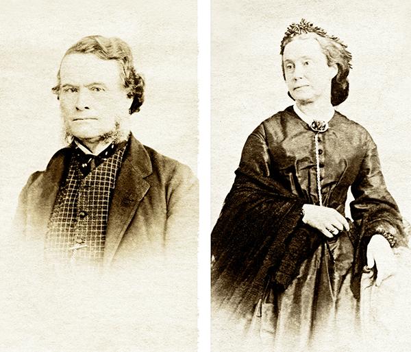 Octavius Browne; Martha Swete née Cummins