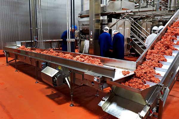 Impossible Foods production line