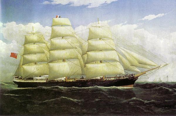 SS Dunedin, Frederick Tudgay