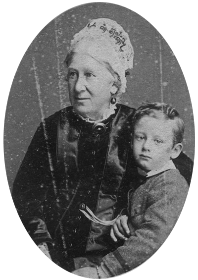 Mary Ann Müller and grandson