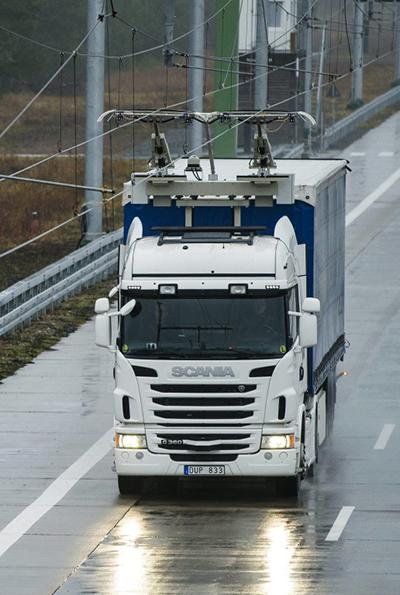 Scania G360 trolleytruck