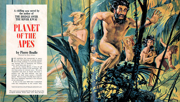 Planet of the Apes, Saga Magazine, 1964
