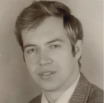 Dr James Hansen, image for University of Iowa Physics Department