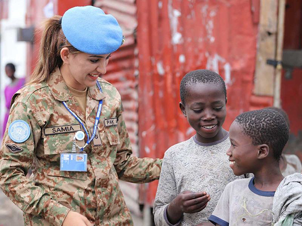 Major Samia Rehman, Pakistan UN peacekeeper