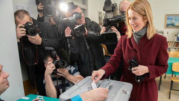 Kaja Kallas casting vote, 2019