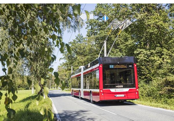 Hess BGT-N 1 D double-source trolleybus