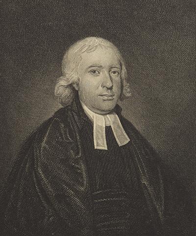 James Fittler engraving of Samuel Marsden
