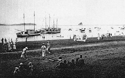 1865 Mahurangi Regatta comparable with Cowes