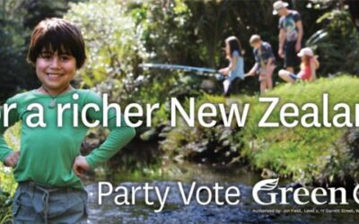 Party-vote green growth for a richer Aotearoa