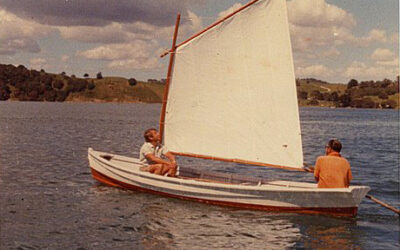 Finding Fred Anderson's punt and sailing with the scow pilot