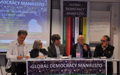 Need for global democracy manifestly self-evident